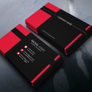 Standard Business Card with UV Gloss