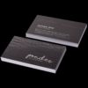 Silk Laminated Business Card with Spot UV with Spot UV